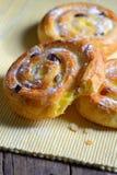 Pastry swirls Stock Photos