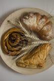 Pastry swirls Royalty Free Stock Photos
