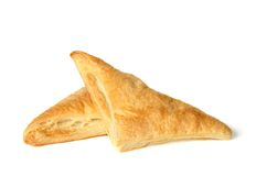 Pastry triangles. Warm and tasty Royalty Free Stock Image