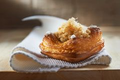 Pastry on white napkin Royalty Free Stock Photography