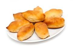 Pastrys russi tradizionali della patata Immagini Stock