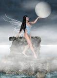 pastuch księżyc ilustracji