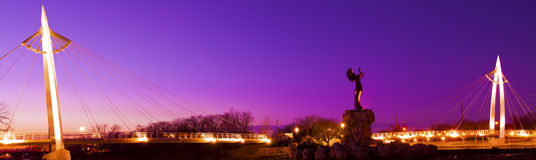 Pastuch równiny w Wichita, Kansas Zdjęcie Royalty Free