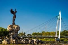 Pastuch równiny, Witchita Kansas Zdjęcie Royalty Free
