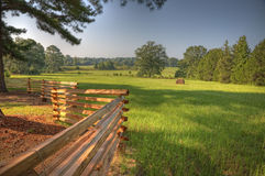 Pasture at Holly Hill royalty free stock photos