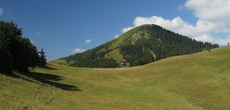 Pasture near Borisov mountain in Velka Fatra mountains in Slovakia Stock Photo