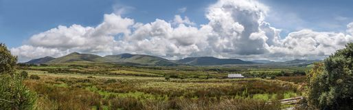 Pastureland at the Ring of Kerry Royalty Free Stock Photos