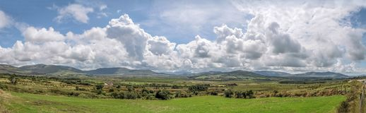 Pastureland at the Ring of Kerry Stock Image