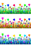 Meadow of Love vector illustration