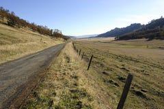 Pasturland rurale scenico, California Immagini Stock Libere da Diritti