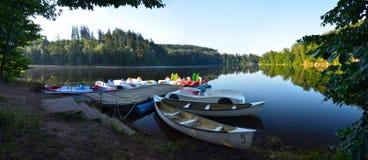 Pastviny as reservas de água, República Checa Fotos de Stock Royalty Free