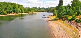Pastviny dam, Czech Republic. Stock Photography