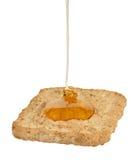 Pasty with Honey Stock Photos