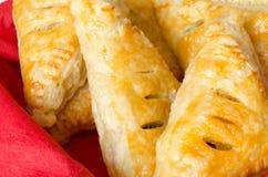 Pastry meat pie Stock Photos