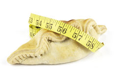 Pasty and Tape Measure Stock Images