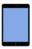 Pastylka peceta błękitny ekran Fotografia Royalty Free