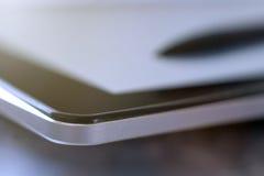 Pastylki pióra technologii cyfrowej zbliżenie Fotografia Royalty Free