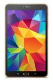 Pastylki Samsung galaxy zakładki S złoto Obraz Royalty Free