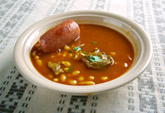 Pasulj  bean dish n, Stock Photo