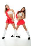 Pasvorm cheerleader Royalty-vrije Stock Afbeelding