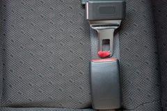 Pasy bezpieczeństwa w samochodzie Fotografia Royalty Free