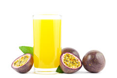 Pasyjny owocowy sok Obrazy Stock