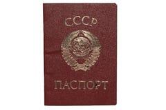 paszport Zdjęcie Stock