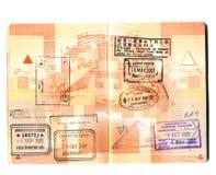 paszport Obraz Royalty Free