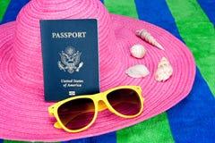paszport kapeluszowe menchie zdjęcia royalty free