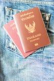 paszport tajlandzki obrazy royalty free