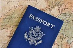 paszportowa podróż obrazy stock