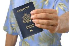 paszportowy podróżnik Obraz Royalty Free