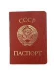paszportowy sowieci Obraz Royalty Free