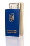 paszportowy Ukraine Zdjęcia Stock