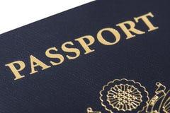 Paszportowy zbliżenie Obraz Royalty Free