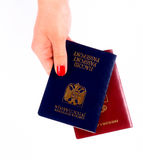 paszporty zdjęcie royalty free