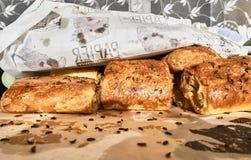 paszteciki Culinária do Natal de Paszteciki Fotos de Stock