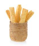 Pasztetowi lub chlebowi kije obraz stock