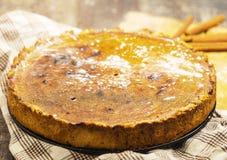 Pasztetowy deseru tort zdjęcie stock