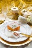 Paté on christmas table Royalty Free Stock Photography