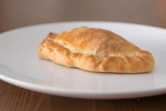 Patè di verdure su un piatto bianco Immagine Stock Libera da Diritti