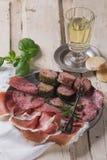 Patè e carne Fotografia Stock Libera da Diritti