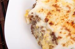 Paté Chinois - bolo de carne picado Imagens de Stock Royalty Free
