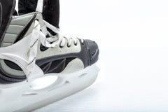 Patín de hielo del hockey Foto de archivo libre de regalías