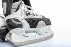 Patín de hielo del hockey Fotos de archivo libres de regalías