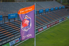PAT Football-Stadion Lizenzfreies Stockfoto