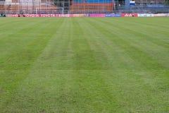 PAT Football-Stadion Stockbild