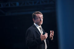 Pat Gelsinger deliver keynote at Oracle OpenWorld Stock Photo