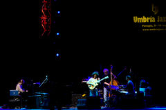 Pat Metheny Group at Umbria Jazz Festival Stock Photos