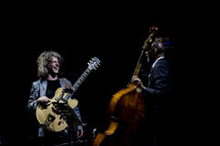 Pat Metheny u. Ron Carter Stockfoto